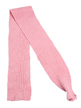 Pink Knitted Scarf - Our knitted scarves can be worn in a number of ways. One end of the scarf has an opening so that it can be worn like a tie. Or it can be simply tied around the neck. But whatever way it is worn it is guaranteed to create that casual look while keeping the neck and chest warm.
