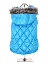 Thermo Blue Quilted Parka - There's no such thing as bad weather, only unsuitable clothing, so said someone, sometime. That's why we have designed this new range of quilted and luxury silkara lined Thermo range of coats. These multi layered coats will keep the heat in and the cold out come what may. Combine that with great col...