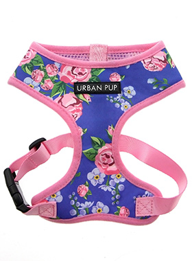 Pink / Blue Floral Burst Harness