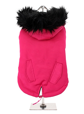 Mod Fishtail Parka Hot Pink
